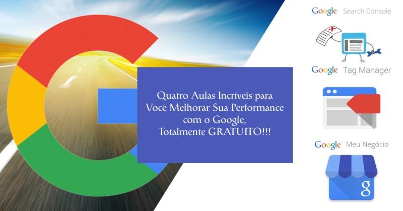 Cursos Google (Google Meu Negócio, Search Console e Tag Manager)