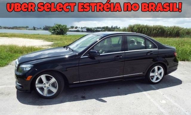 Uber Select Estréia no Brasil