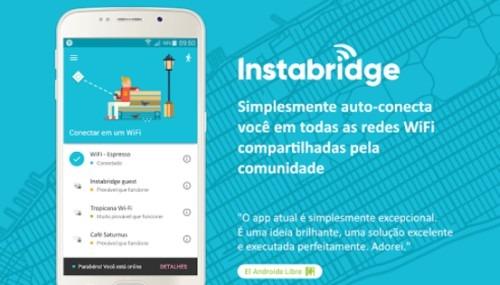 Usar Wifi Grátis - Instabridge
