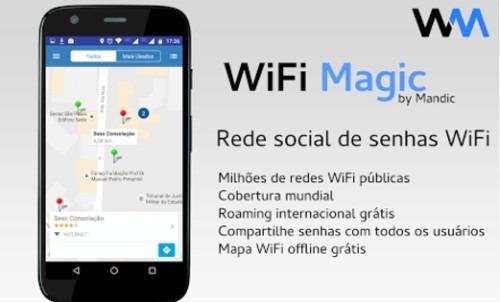 Usar Wifi Grátis - Mandic magic