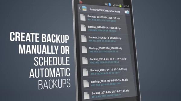 Como Fazer Backup no Android
