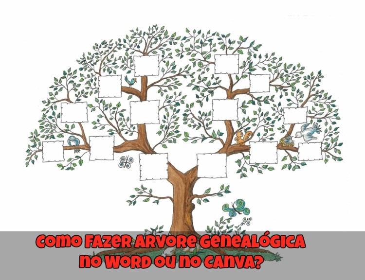 Como Fazer Arvore Genealogica No Word Ou No Canva