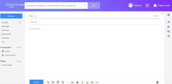 Como-Criar-Email-no-Yahoo-de-Forma-Gratuita-tela-escrevendo-um-email