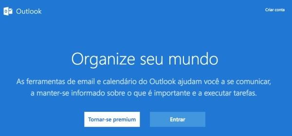 Como-Criar-uma-Conta-no-Outlook-tela-inicial